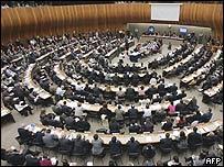 Comisi�n de Derechos Humanos de la ONU en Ginebra.