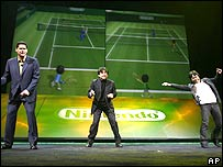 Nintendo tennis demo