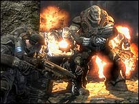 Screenshot of Gears of War