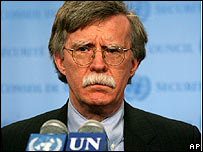 John Bolton, US envoy to the UN