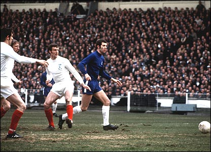 Peter Osgood in action in 1970