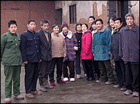 Cheng Changzhen and her entire extended family