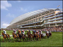 Artist's impression on the new Ascot