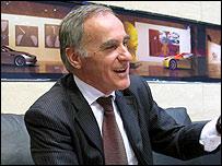 Aston Martin's chief executive Ulrich Bez