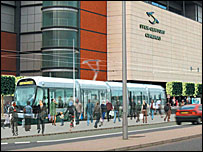 Edinburgh tram - artist's impression