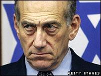 Israeli PM Ehud Olmert. File photo