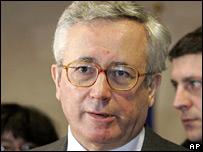 Italian Economy Minister Giulio Tremonti