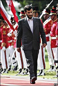الرئيس الايراني في اندوسيا