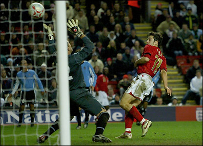 Joe Cole scores England's winner