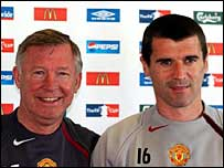 Sir Alex Ferguson (left) rates Roy Keane as his finest signing