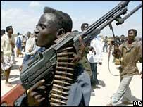 Mogadishu gunman