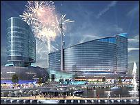 Image of proposed Cardiff casino