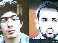 The two executed bombers appeared on Iranian TV confessing to the attacks
