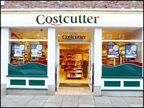 Costcutter shop front
