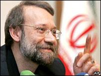 Iranian nuclear negotiator Ali Larijani in Moscow