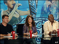 Fox TV show American Idol