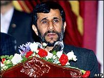Iranian President Mahmoud Ahmadinejad. File photo