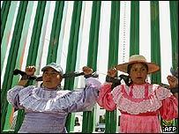 Mujeres en Atenco