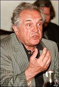 Alexander Zinovyev just after his return to Russia in 1999