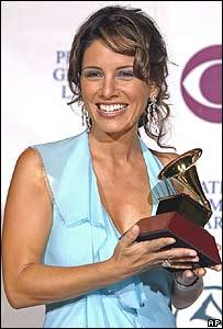 La cantante Soraya en 2004.