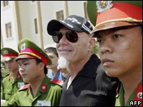 Gary Glitter in Vietnam
