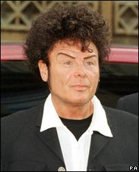 Gary Glitter after jail