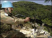 UN peacekeeper in DR Congo