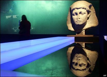 معرض في برلين للكنوز المصرية الغارقة