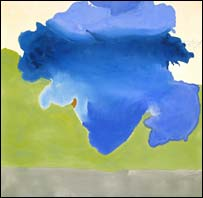 The Bay by Helen Frankenthaler. Photo: Detroit Institute of Arts
