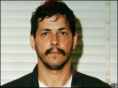 Marc Dutroux shortly after his arrest in 1996
