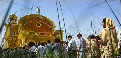 Iglesia de San José en Allahabad, India