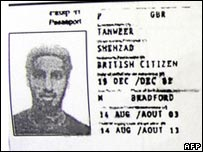 Photocopy of passport of Shehzad Tanweer