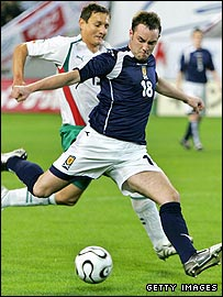 Scotland striker Kris Boyd was on target twice