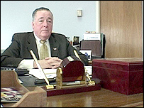 John Hanlon, mayor of city of Everett, Massachusetts