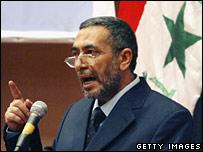 Iraqi parliament speaker Mahmoud al-Mashhadani