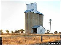 Australian grain silo