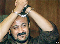 Jailed Fatah leader Marwan Barghouti