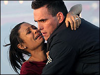 Thandie Newton and Matt Dillon in Crash