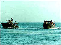 Tamil Tiger boats. File photo