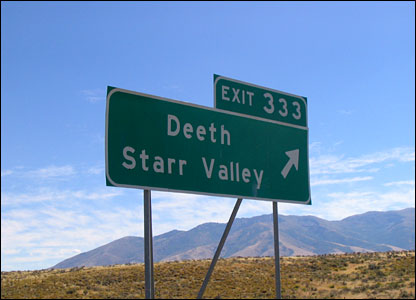 Deeth Starr Valley