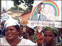 Benin election rally