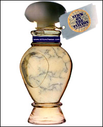 Stilton perfume bottle