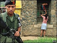 Fuerzas armadas en Guatemala.