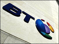 Exterior of BT office
