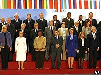 Cancilleres y funcionarios de Europa y AL en Viena.