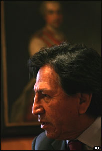 Presidente de Per�, Alejandro Toledo