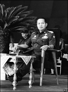 General Suharto after being sworn in as president in 1967