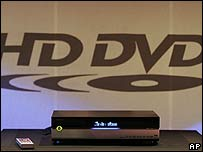 HD DVD player