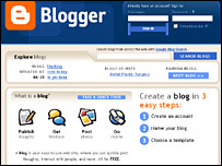 Blogspot site