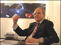 Burkhard Goeschel, board member in charge of product development at Rolls-Royce's parent company BMW Group